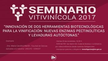 Seminario Vitivinícola en el INV