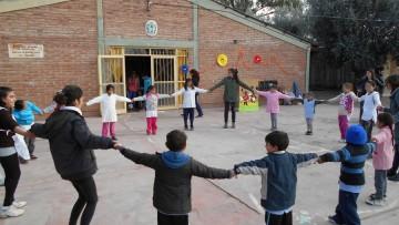 Se festejó el día del niño en la escuela Emilio Civit