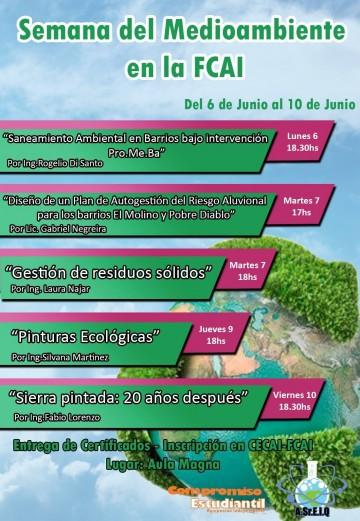 Semana del Medio Ambiente en la FCAI