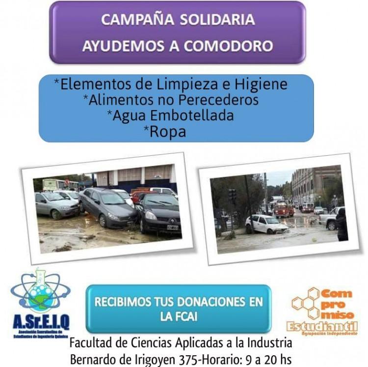 Campaña Solidaria \Ayudemos a Comodoro Rivadavia\