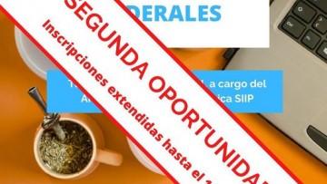 """INSCRIPCIONES EXTENDIDAS :CONVOCATORIA PROGRAMA DE """"BECAS INTERCAMBIOS FEDERALES"""""""