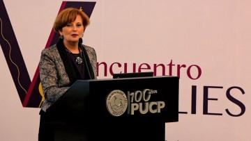 La decana de la Facultad de Ciencias Aplicadas a la Industria participó del V Encuentro Emulies