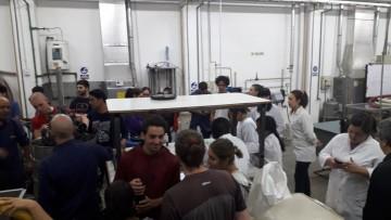 Elaboración de vino blanco en la FCAI