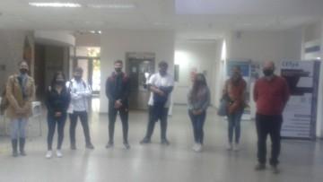 Visita de colegios a la FCAI