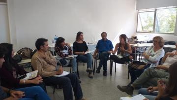Primera reunión del año con coordinadores de proyectos Mauricio Lopez