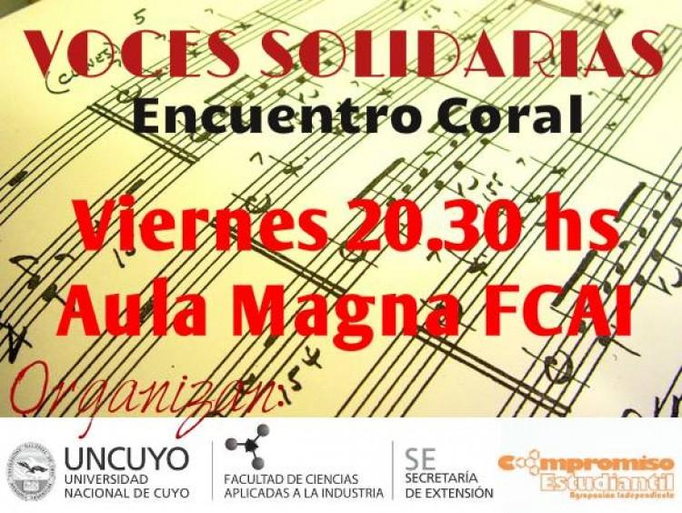 Voces solidarias - Encuentro Coral