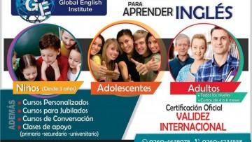 Becas para tres estudiantes de la FCAI en el Instituto de Inglés Global English