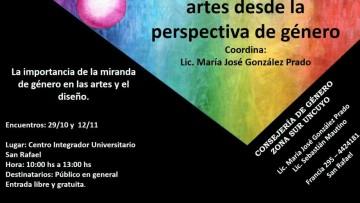"""Taller gratuito """"Sensibilización en las artes desde la perspectiva de género"""""""