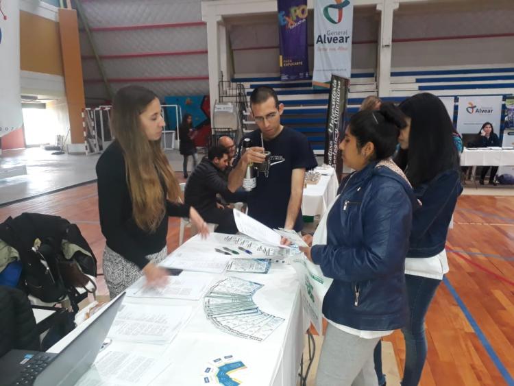 La FCAI dijo presente en la  Expo Educativa 2018 de General Alvear
