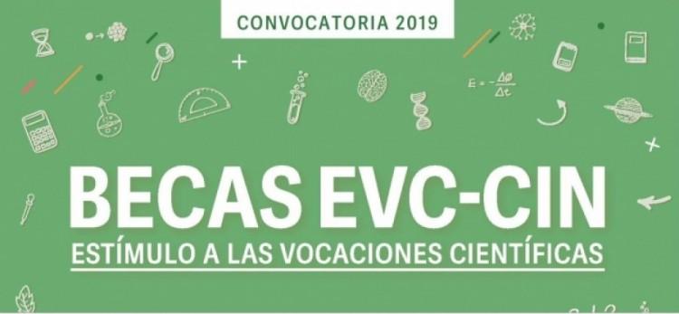 Convocatoria Becas de Estímulo a las Vocaciones Científicas 2019-CIN