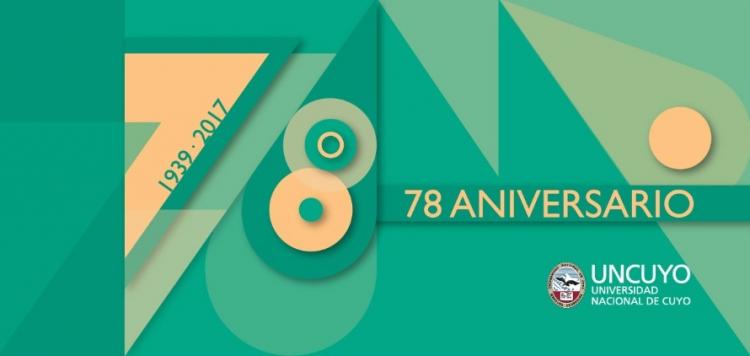 78 Aniversario Universidad Nacional de Cuyo