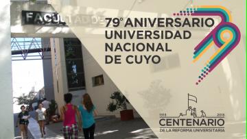 La UNCuyo celebra sus 79 años