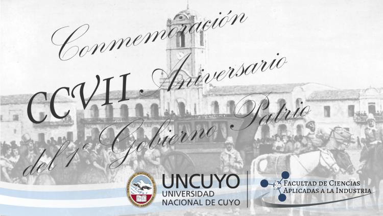Invitación al Acto en Conmemoración al CCVII Aniversario del 1º Gobierno Patrio