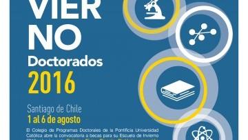 Convocatoria para Escuela de Invierno doctorados 2016