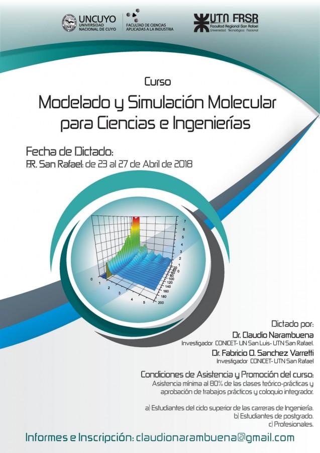 Modelado y Simulación Molecular para Ciencias e Ingeniería