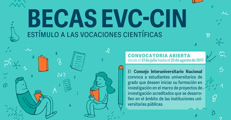 Becas EVC-CIN - Convocatoria 2017 -