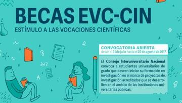 Becas EVC-CIN 2017: Anuncio de convocatoria