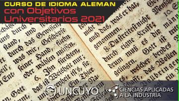 Curso de Idioma Alemán con Objetivos Universitarios 2021
