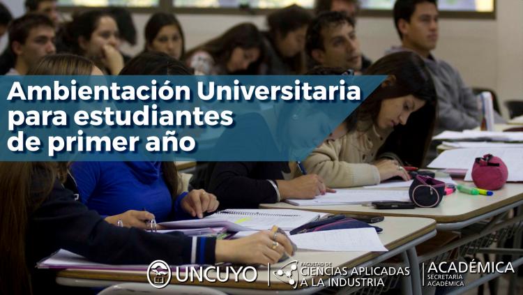 Ambientación Universitaria para estudiantes de primer año