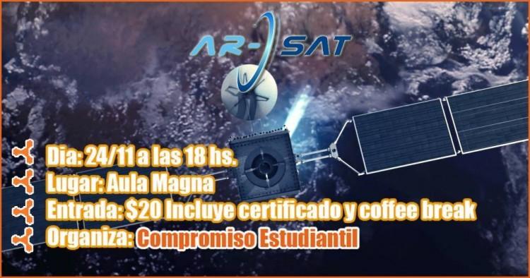Se hará una Charla sobre ARSAT 1