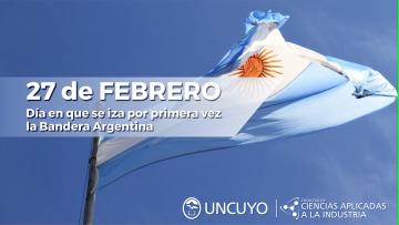 27 de febrero: Día en que se iza por primera vez la Bandera Argentina