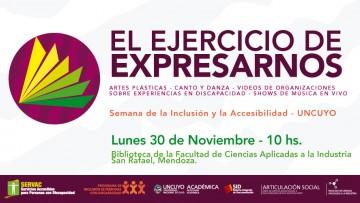 """Muestra de Arte y exposición: """" El ejercicio de expresarnos"""""""