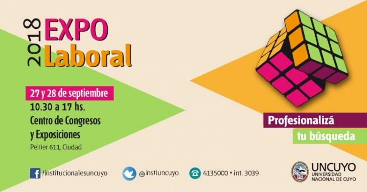 Expo Laboral en el Auditorio Ángel Bustelo de Ciudad Mendoza