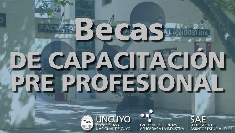 Becas de Capacitación Pre Profesional