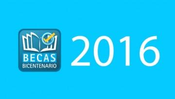 Convocatoria para las Becas Bicentenario 2016