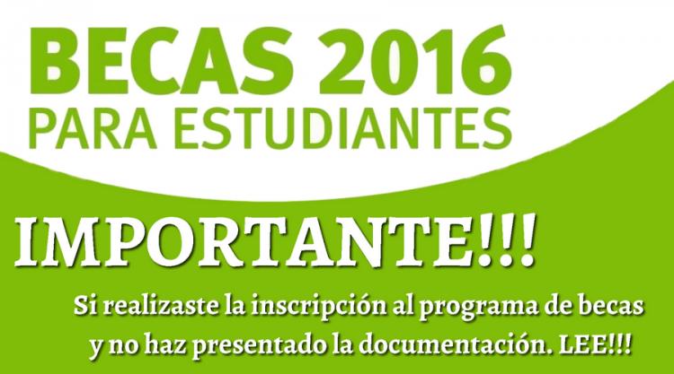 Información importante para estudiantes inscriptos en las Becas 2016 UNCuyo
