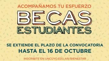 Convocatoria Becas Estudiantes 2019 EXTENSIÓN PLAZOS