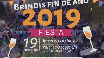 Brindis fin de año 2019