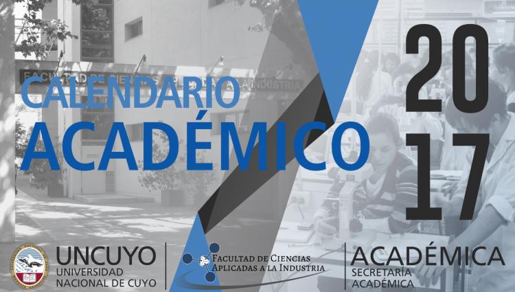 Calendario académico 2017