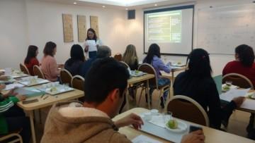 Miembros de la FCAI, participaron del Taller introductorio de cata de aceite de oliva en la Facultad de Ciencias Agrarias de la UNCUYO