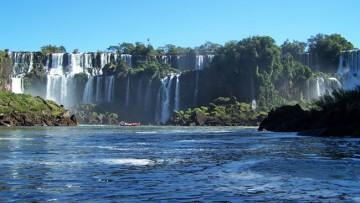 Cataratas del Iguazú en julio