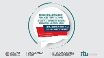 Charla sobre \Educación a Distancia: Alcances y Limitaciones\