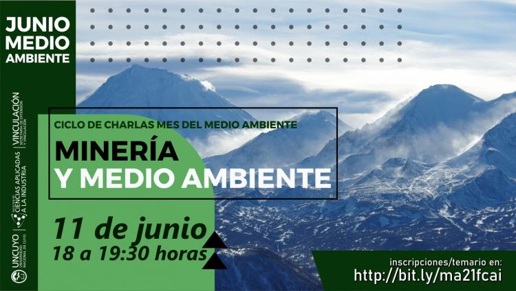 Mes del Medio Ambiente - Charla: Minería y medio ambiente
