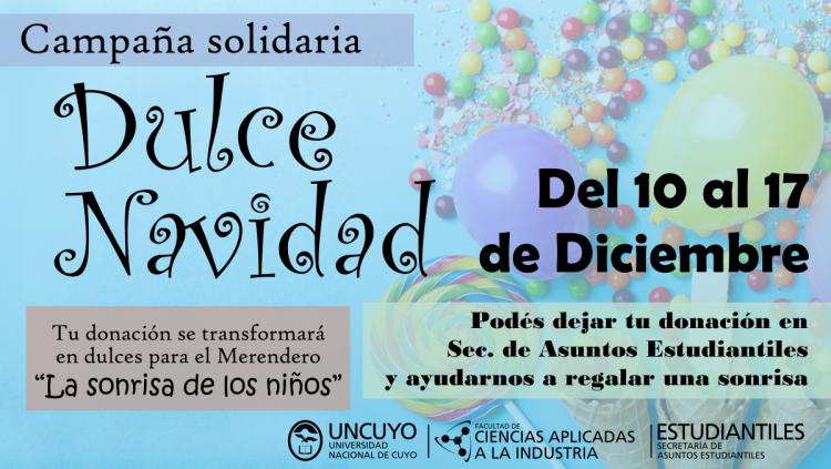 """Campaña Solidaria """"Dulce Navidad"""""""