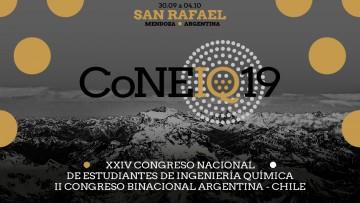 CoNEIQ 2019 XXIV Congreso Nacional de Estudiantes de Ingeniería