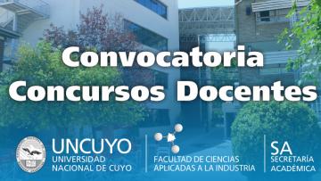 Postulaciones Abiertas a Docentes - Licenciatura en Enología