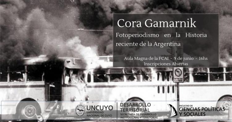 Cora Gamarnik en la FCAI