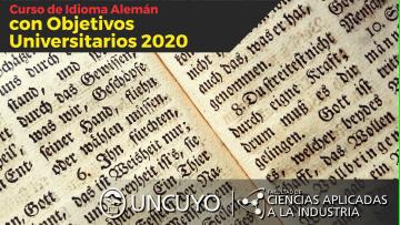 Curso de Idioma Alemán con Objetivos Universitarios 2020