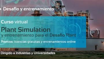 Desafío y Entrenamiento Plant Simulation para la Industria y Universidades - GRATUITO