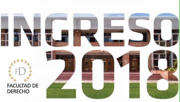 Viernes 1 de septiembre la Facultad de Derecho - UNCuyo inscribirá a aspirantes a estudiar sus carreras