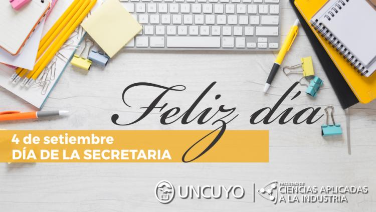 4 de setiembre, Día de la Secretaria
