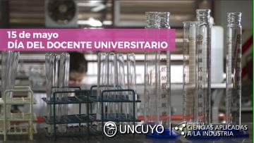 15 de mayo - Día del DOCENTE UNIVERSITARIO