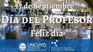 Salutaciones Día del Profesor