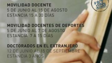 Apertura Programa de Movilidad para Docentes de la UNCUYO