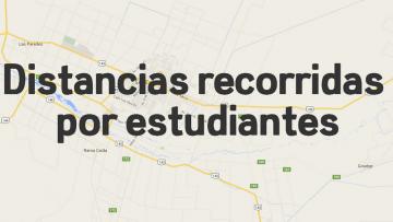 imagen que ilustra noticia Relevamiento distancia estudiantes a la FCAI