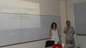 Se realizó la charla sobre Primeros Auxilios y RCP